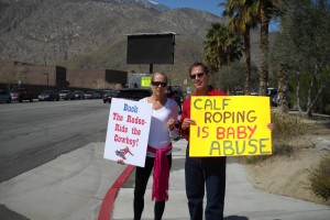 Animals Today April 10, 2011. Marc Bekoff discusses coyotes. Protesting the Palm Springs Rodeo.