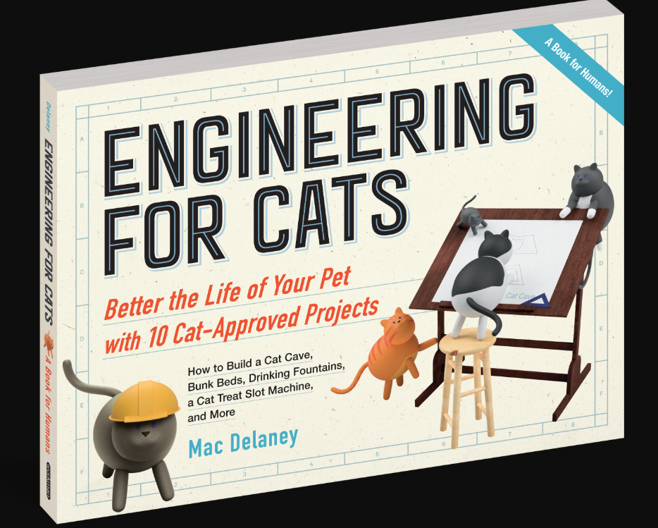 The book, Engineering for Cats.